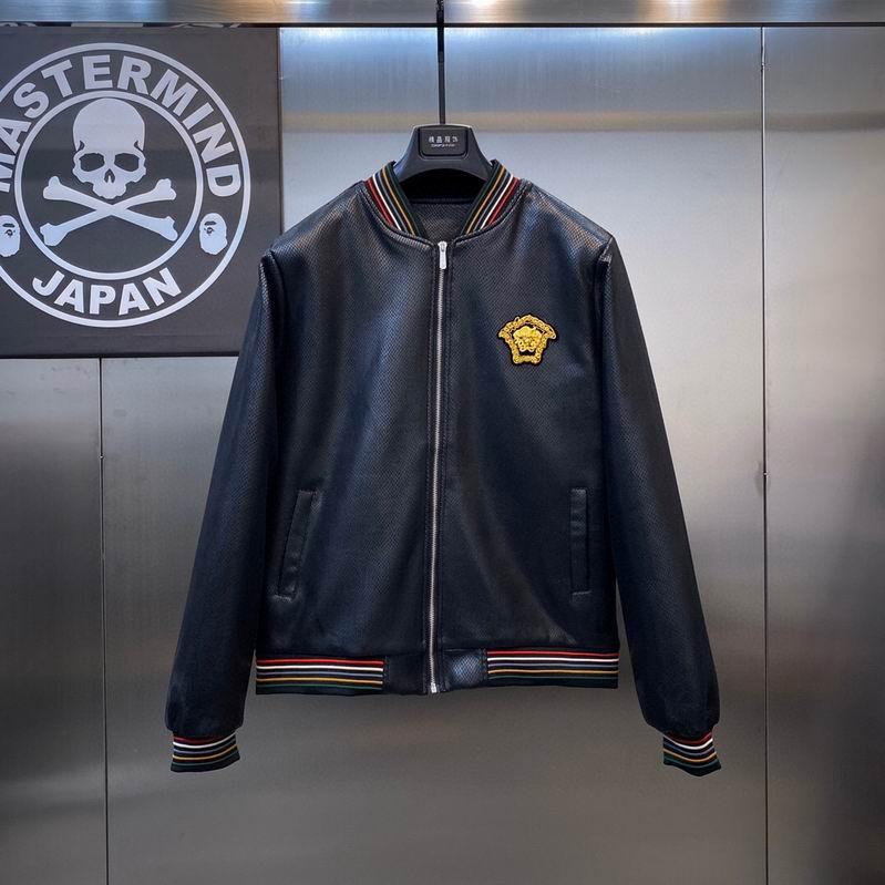 Wholesale Cheap Versac e Men Jackets for sale