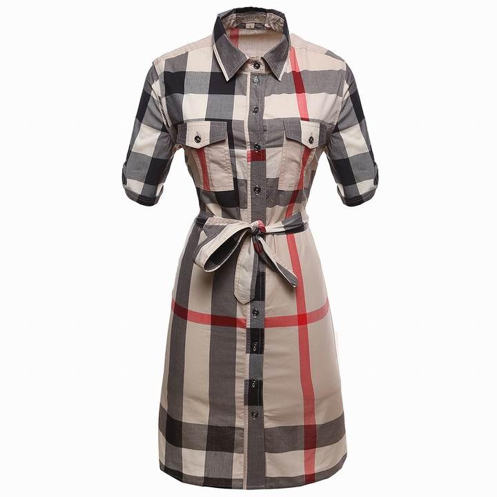 Wholesale Cheap Burberry Womens Dresses Sale-170