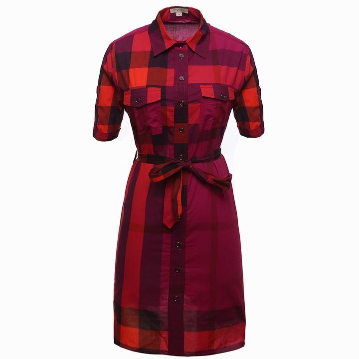 Wholesale Cheap Burberry Womens Dresses Sale-171