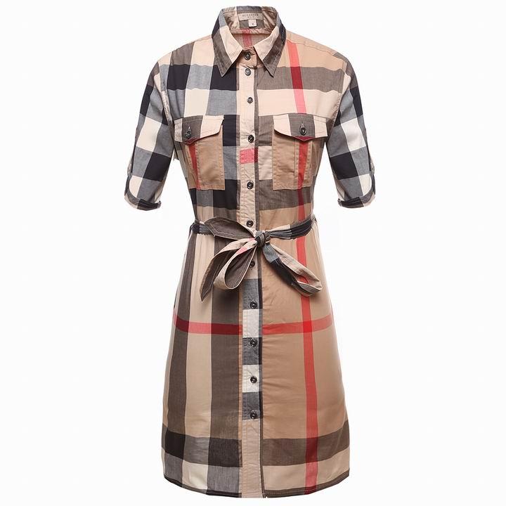 Wholesale Cheap Burberry Womens Dresses Sale-174