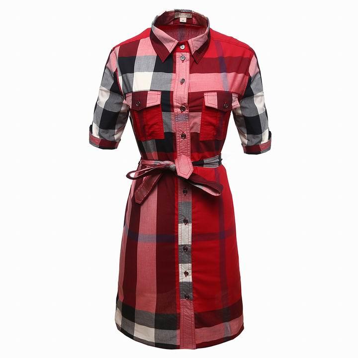 Wholesale Cheap Burberry Womens Dresses Sale-169