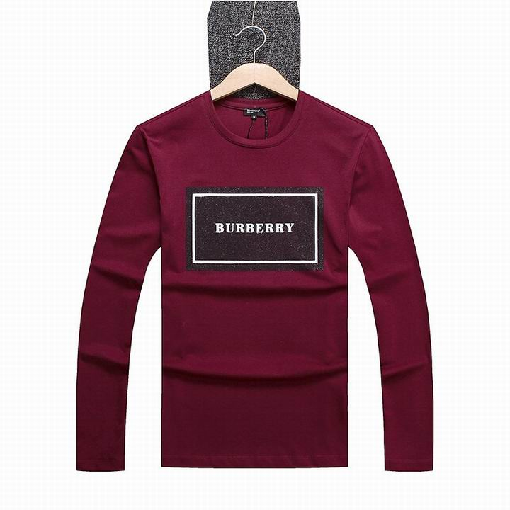 Wholesale Burberry Mens Long Sleeve T Shirts for Sale