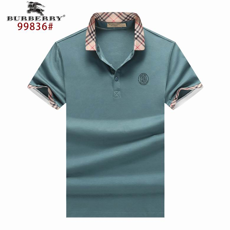 Wholesale Cheap Mens Lapel Short Sleeve T-Shirts for sale