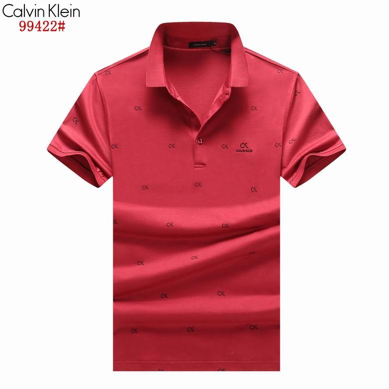Wholesale Cheap Ck Men Short Sleeve Lapel T Shirts for Sale