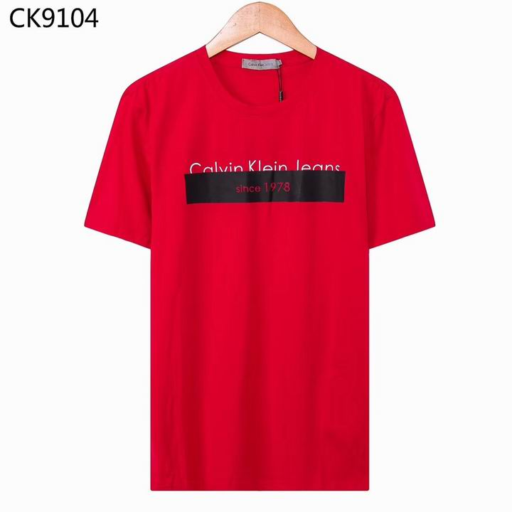 Wholesale Cheap CK Short Sleeve Round Collar T Shirts for sale