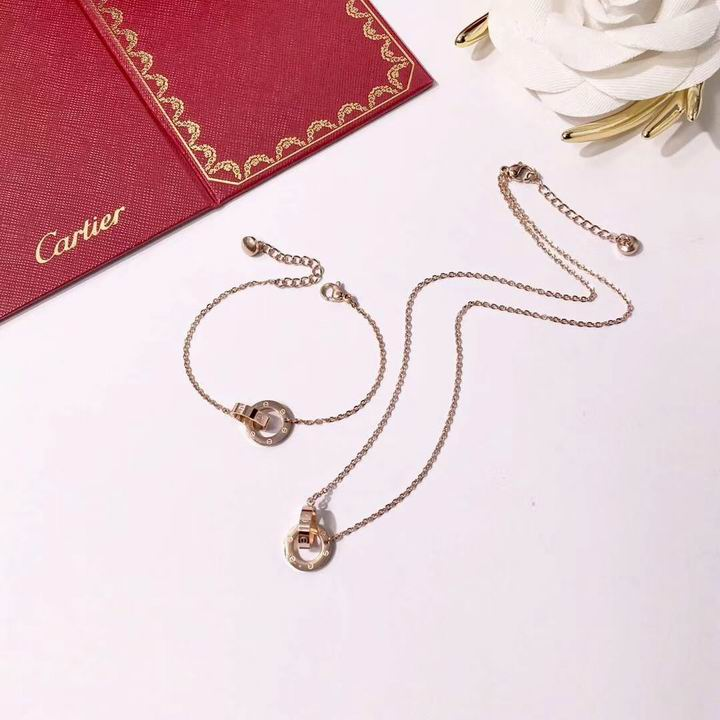 Wholesale Cheap Cartier Jewelry Set for sale