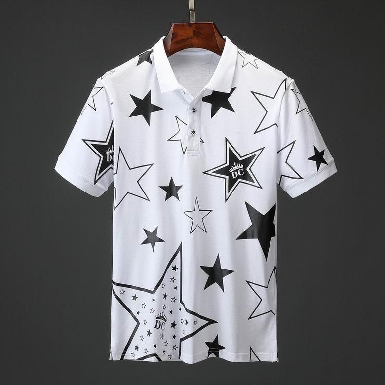 Wholesale Cheap DG Short Sleeve Lapel T Shirts For sale