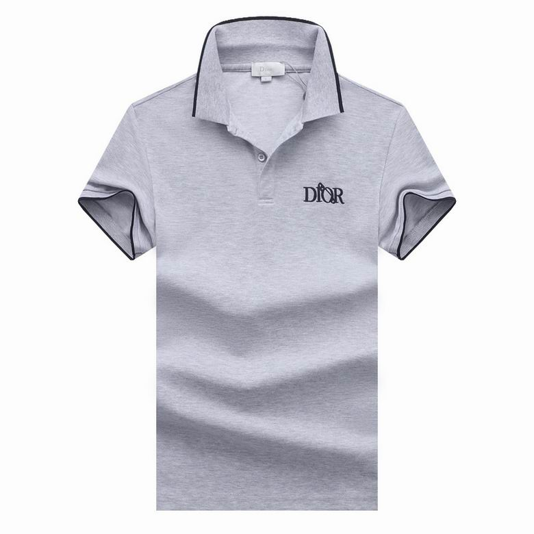 Wholesale Cheap D ior Polo Short Sleeve Lapel T shirts for sale