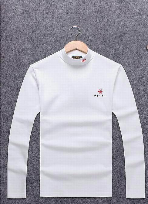 Wholesale Dior Men's High Round Collar T-Shirts-003