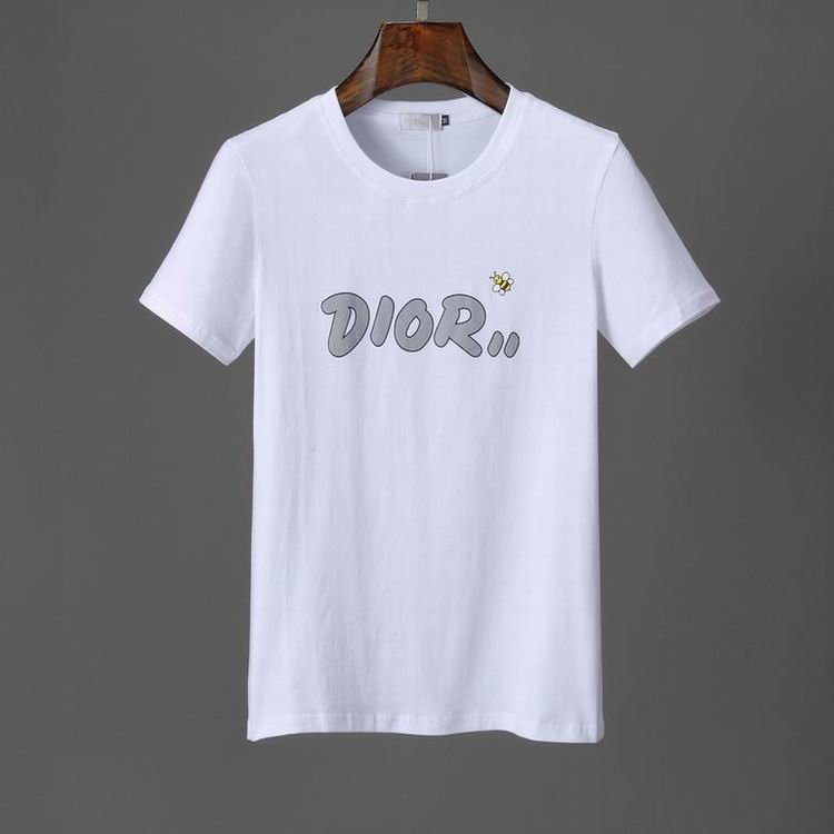Wholesale Cheap Dio r Short Sleeve Round Collar T Shirts for Sale