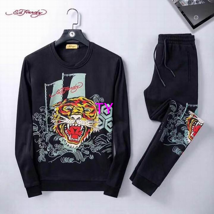 Wholesale Cheap Ed Hardy Mens Long Sleeve Tracksuits for sale