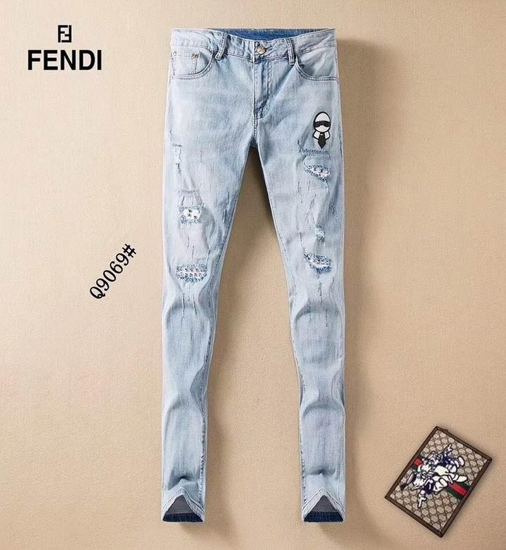 Wholesale Cheap Fendi Men's Jeans for sale