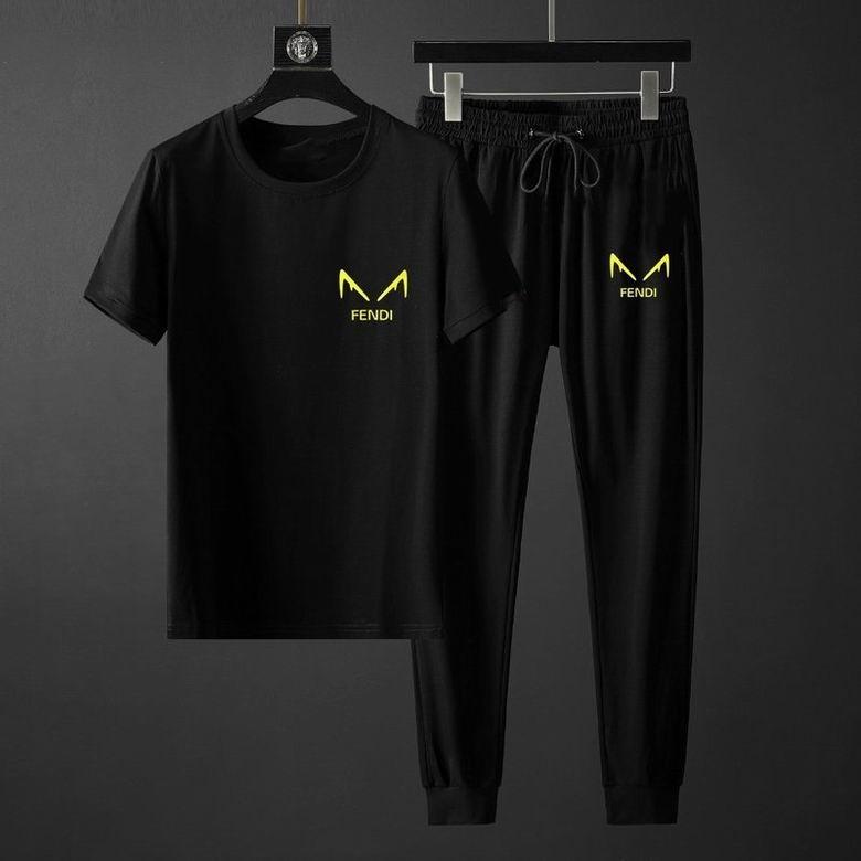 Wholesale Cheap FNEDI Men's Short Sleeve Tracksuit for sale