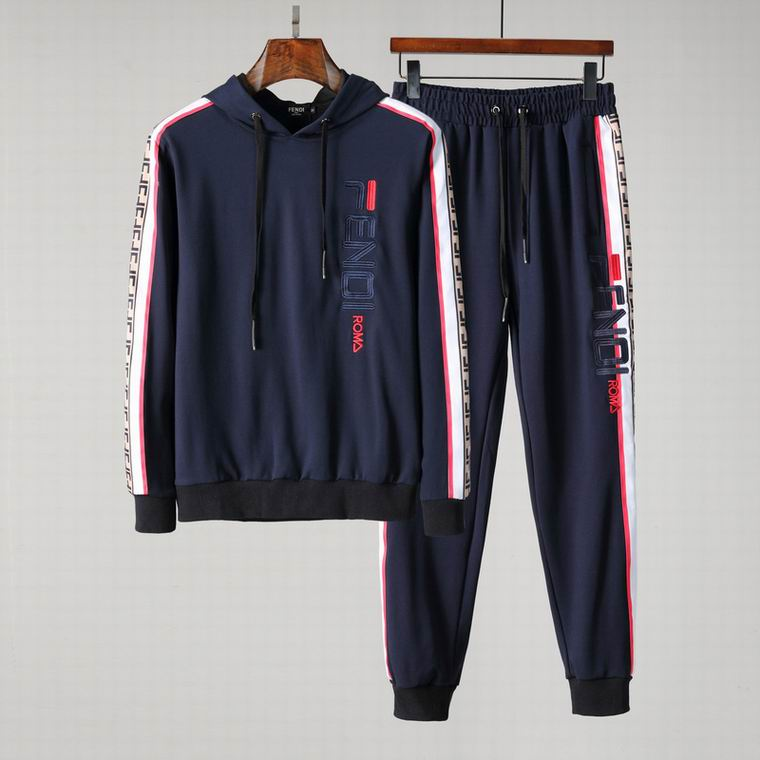Wholesale Cheap Fend i Long Sleeve Tracksuits for Sale