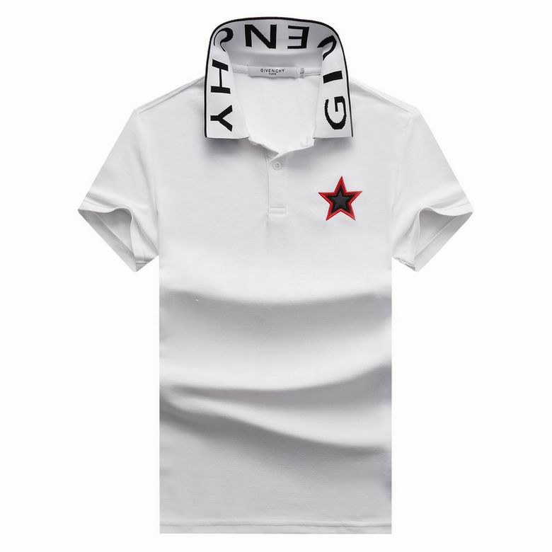 Wholesale Cheap G ivenchy Polo Short Sleeve Lapel T shirts for sale