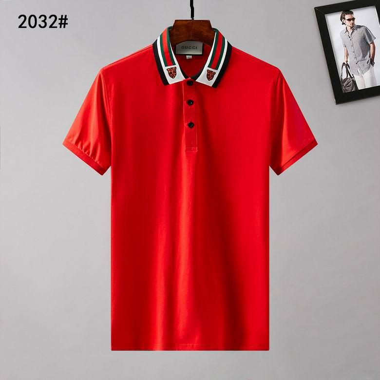 Wholesale Cheap Gucc i Short Lapel T Shirts for sale