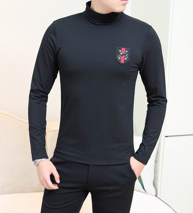 Wholesale High Neck Long Sleeve T Shirts for sale