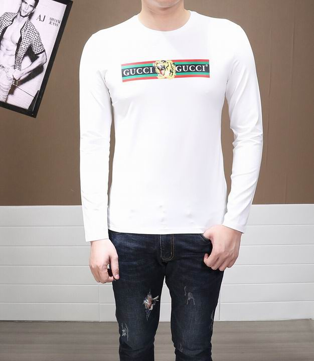 Wholesale Cheap Men's Fashion Long Sleeve T Shirts for sale