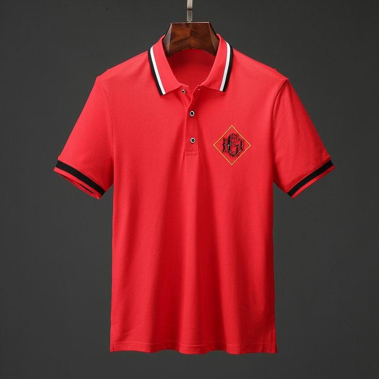 Wholesale Cheap Gucc i Men's Short Sleeve Lapel T Shirts for sale
