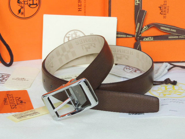 Wholesale 1:1 Hermes Leather Belt Replica for Sale-907
