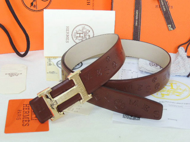Wholesale 1:1 Hermes Leather Belt Replica for Sale-910