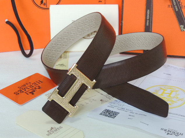 Wholesale 1:1 Hermes Leather Belt Replica for Sale-916