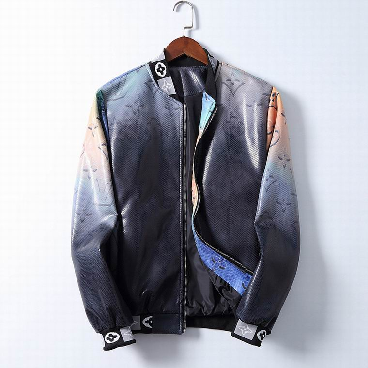 Wholesale Cheap LV Mens Leather Jackets for sale