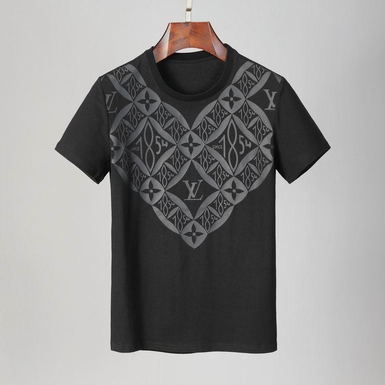 Wholesale Cheap LV Mens Short T Shirts for sale