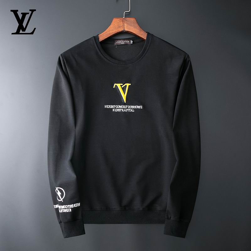 Wholesale Cheap Louis Vuitton Mens Sweatshirts for sale