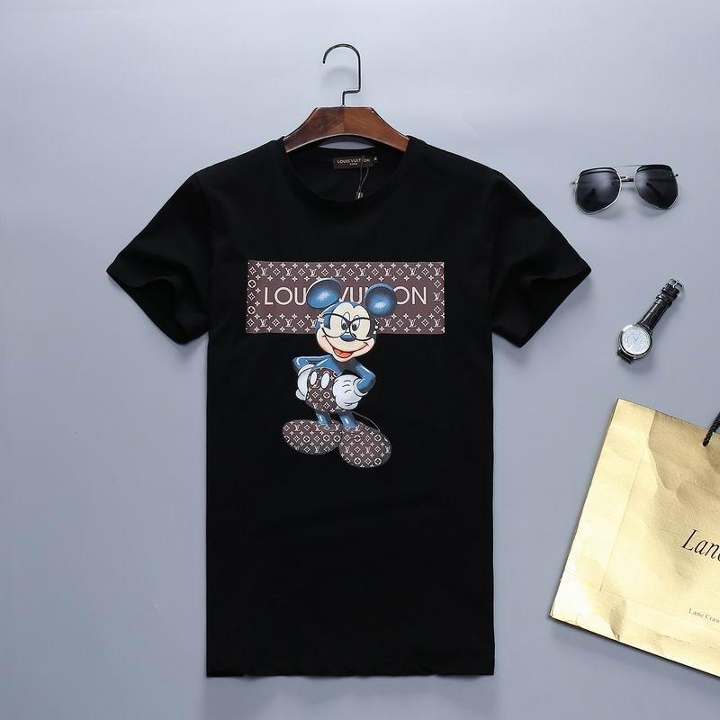 Cheap Wholesale Mens Short Sleeve Round Collar T Shirts Online