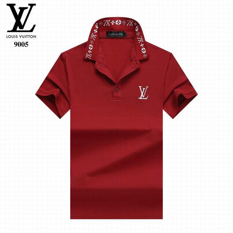 Wholesale Cheap Lv Short lapel T Shirts for Men
