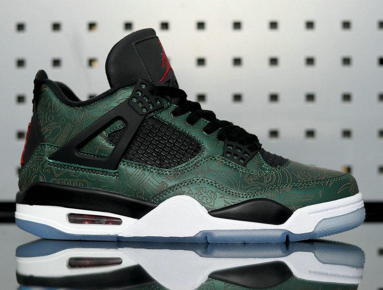 """Air Jordan 4  """"Green Laser"""" AJ4-1043515"""