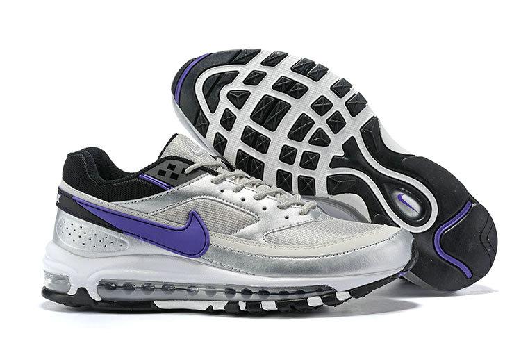 Nike Air Max 97/BW Metallic Silver Violet AO2406-002