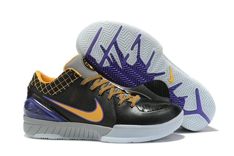 Wholesale Cheap Men Nike Kobe 4 IV Basketball Shoes for Sale