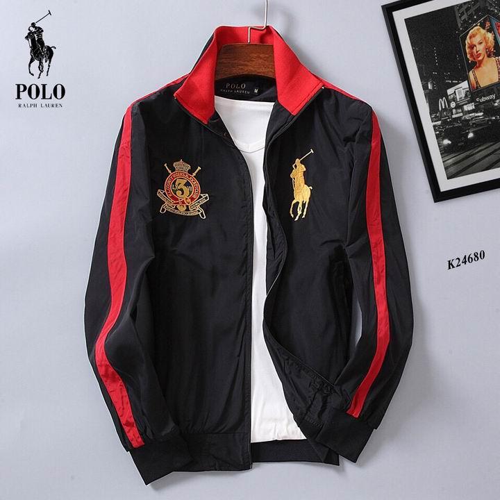 Wholesale Designer Polo Ralph Lauren Men's Jackets for Cheap-048