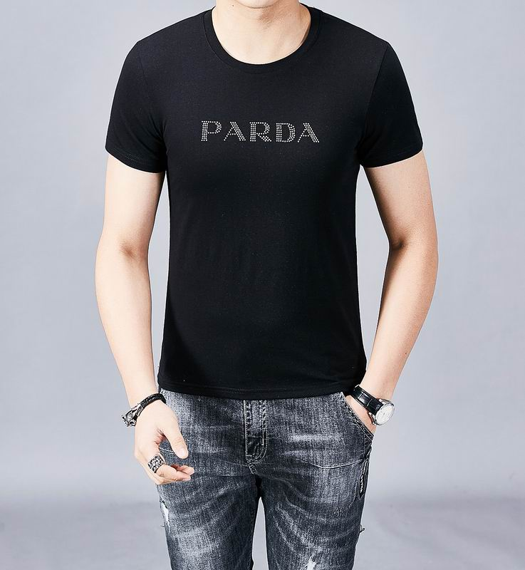 Wholesale Cheap Prada Mens Short Sleeve T Shirts for Sale