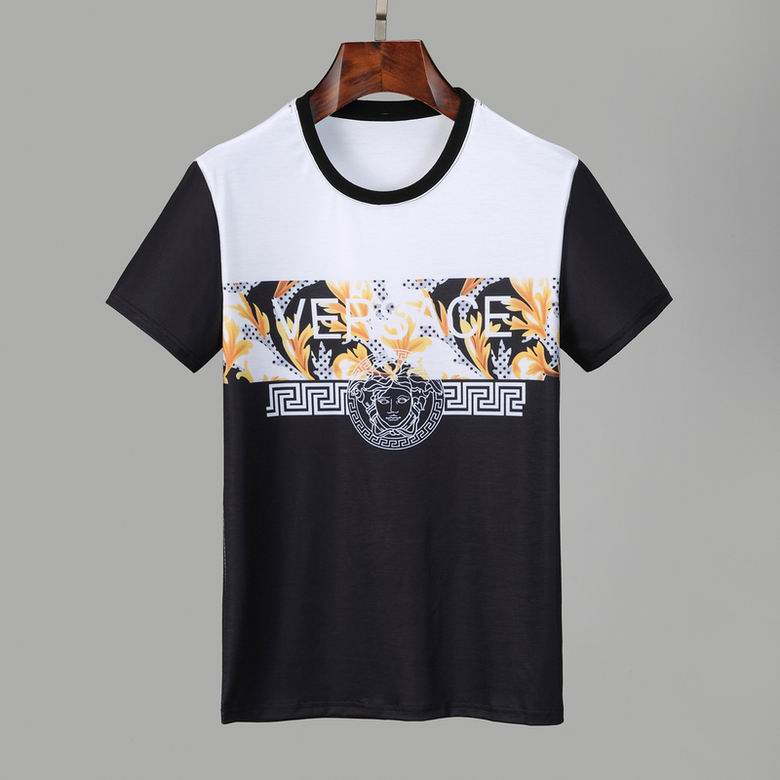 Wholesale Cheap Versac e Mens Short T Shirts for sale