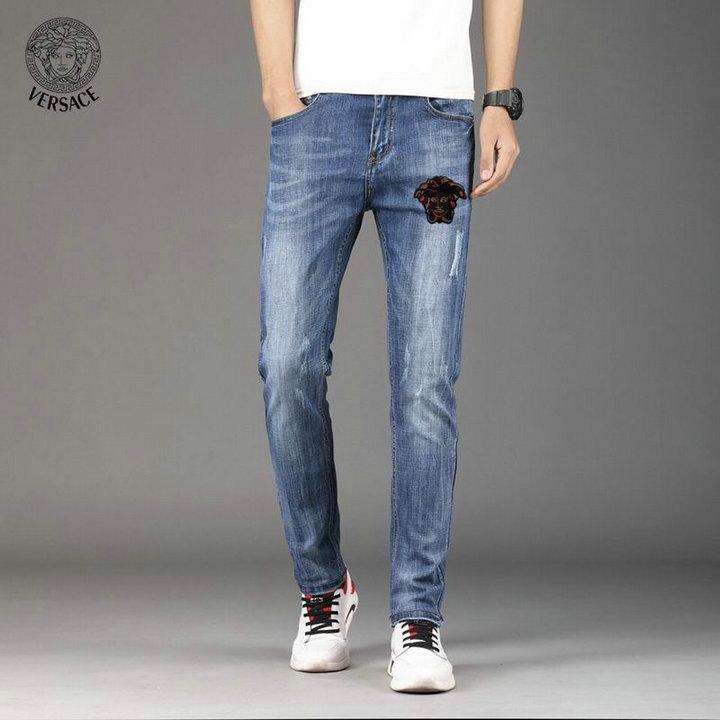 Wholesale Cheap Versace Long Jeans For Sale
