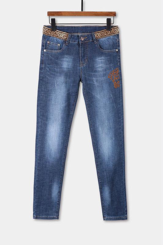 Wholesale Men Versace Long Jeans For Sale