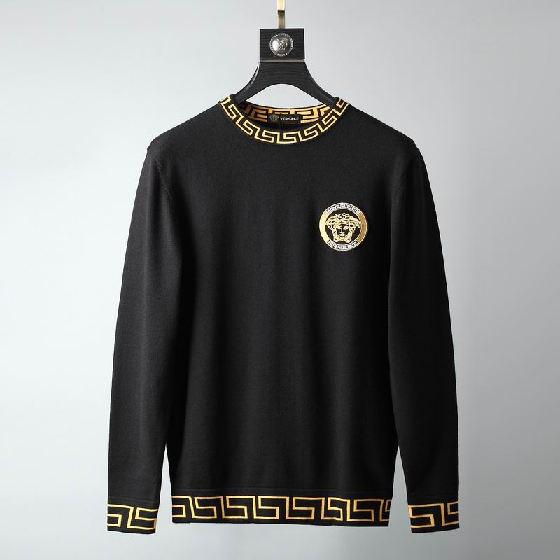 Wholesale Cheap Mens Versace Designer Sweaters for sale