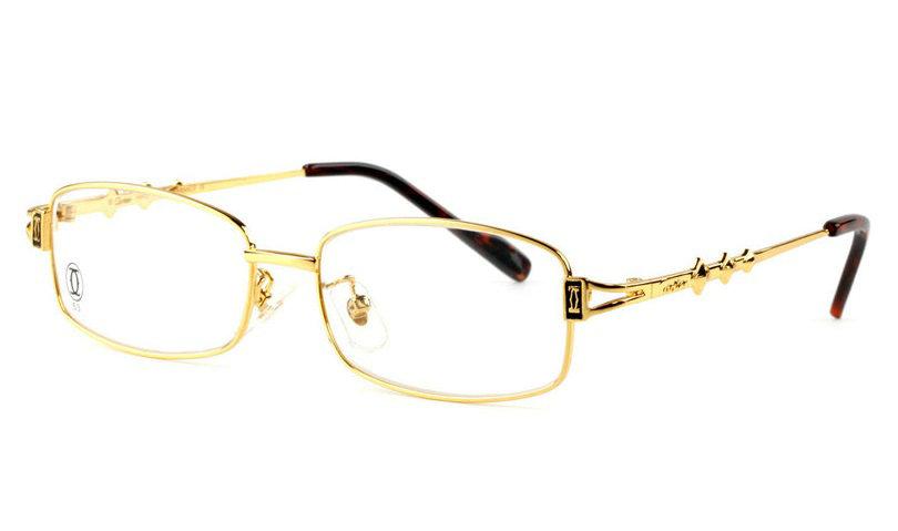 Wholesale Replica Cartier Full Rim Metal Eyeglasses Frame for Sale-017