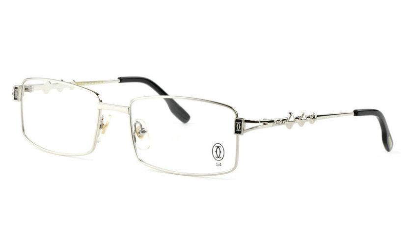 Wholesale Replica Cartier Full Rim Metal Eyeglasses Frame for Sale-018