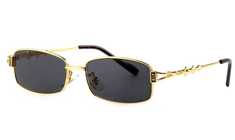 Wholesale Replica Cartier Full Rim Metal Eyeglasses for Sale-019