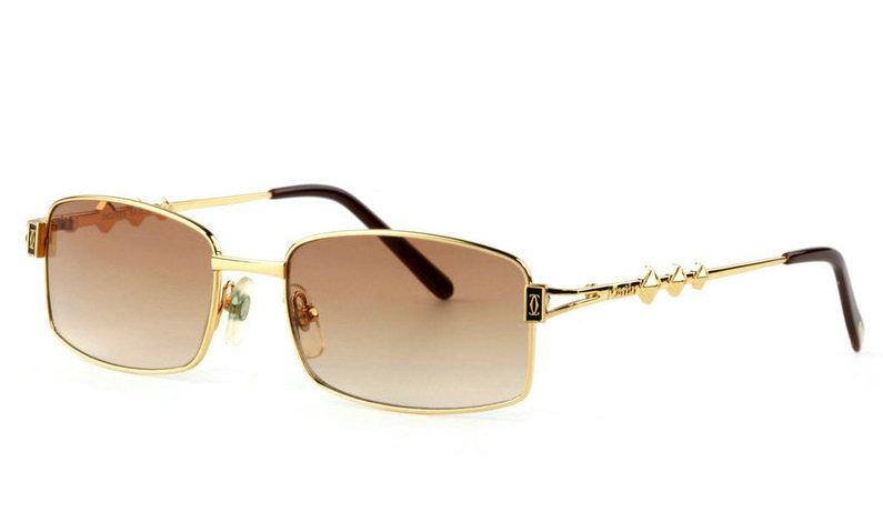 Wholesale Replica Cartier Full Rim Metal Eyeglasses for Sale-020
