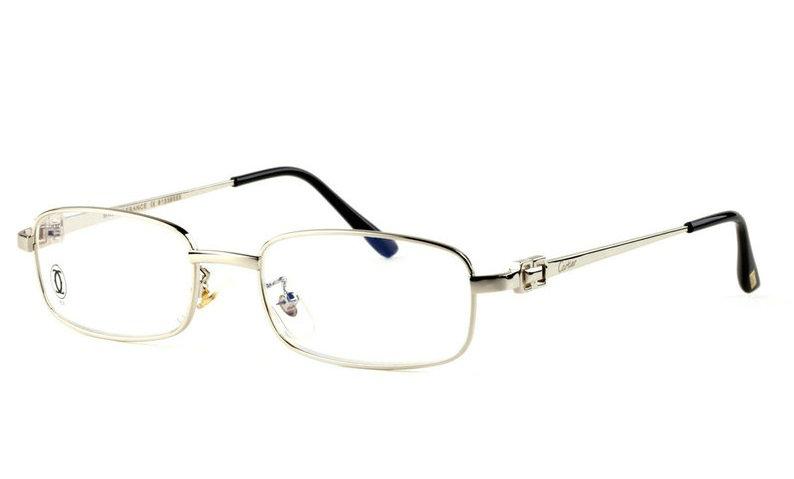 Wholesale Replica Cartier Full Rim Metal Eyeglasses Frame for Sale-021