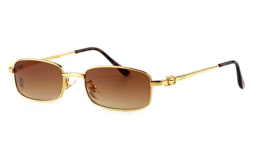 Wholesale Replica Cartier Full Rim Metal Eyeglass Frame for Sale-022