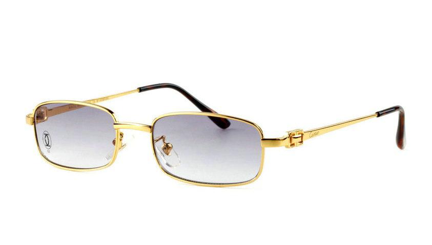 Wholesale Replica Cartier Full Rim Metal Eyeglasses Frame for Sale-024