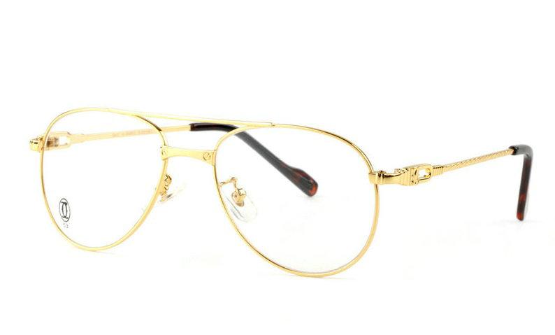 Wholesale Replica Cartier Full Rim Metal Eyeglasses Frame for Sale-025
