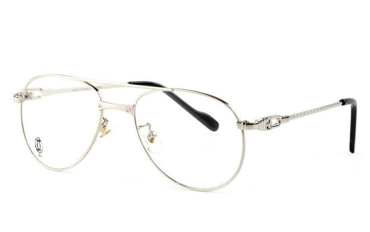 Wholesale Replica Cartier Full Rim Metal Eyeglasses Frame for Sale-026