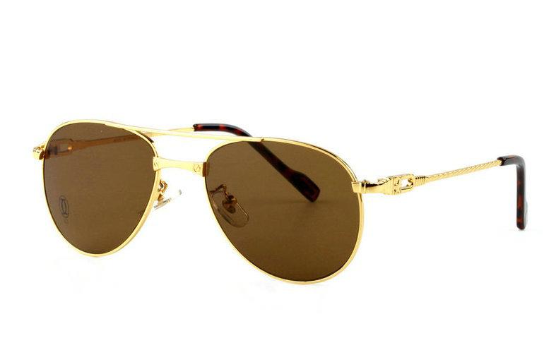 Wholesale Replica Cartier Full Rim Metal Eyeglasses for Sale-027